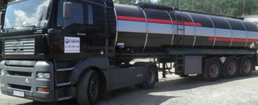 Transport drogowy cysternami